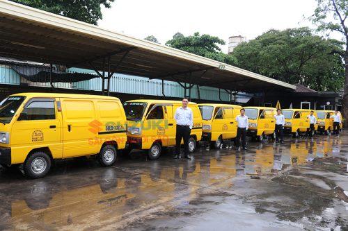 Xe tải Suzuki Blind Van nhỏ gọn, có thể hoạt động 24/24 tại thành phố Hồ Chí Minh