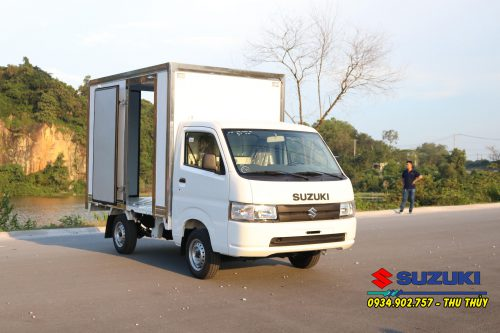 Mẫu Suzuki Pro Thùng Kín Composite tại Sài Gòn Ngôi Sao