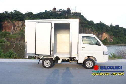Xe tải Suzuki Pro 750Kg thùng kín nhập khẩu